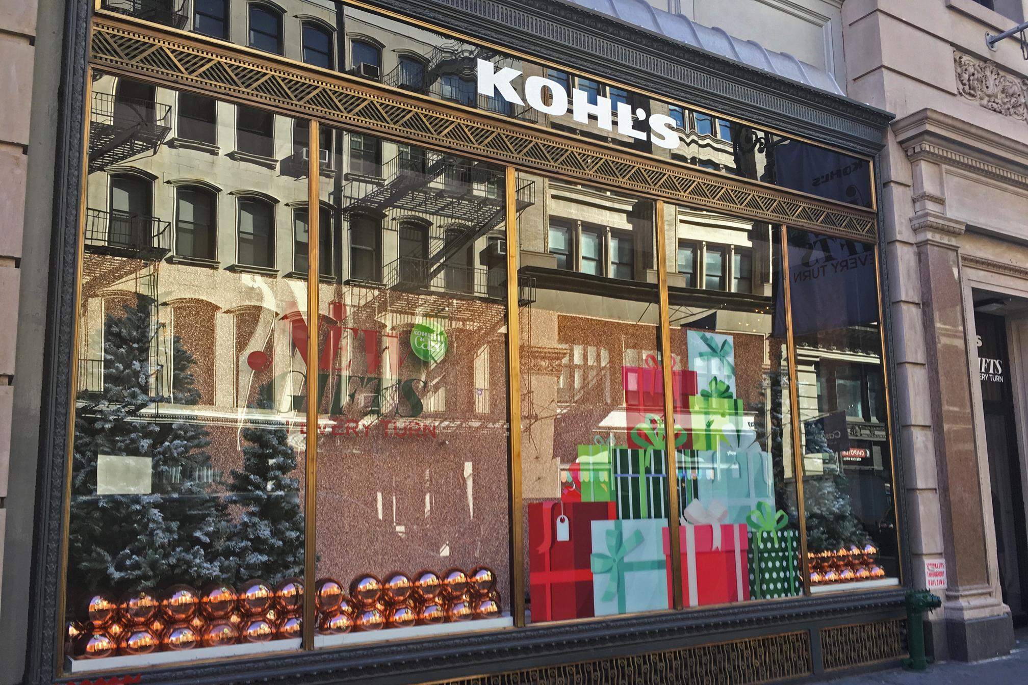 Kohl's calls on AI to help power through holiday season