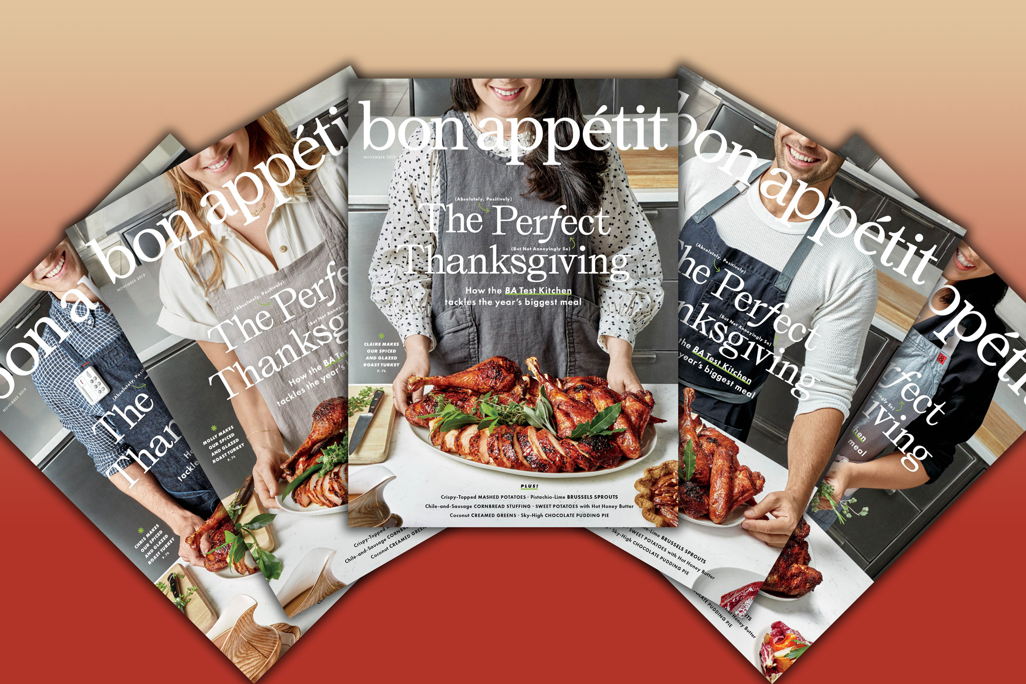 Bon Appétit is leveraging its low-key famous editors for a 'perfect' Thanksgiving video series