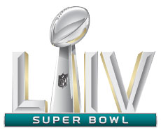 Super Bowl LIV trophy icon
