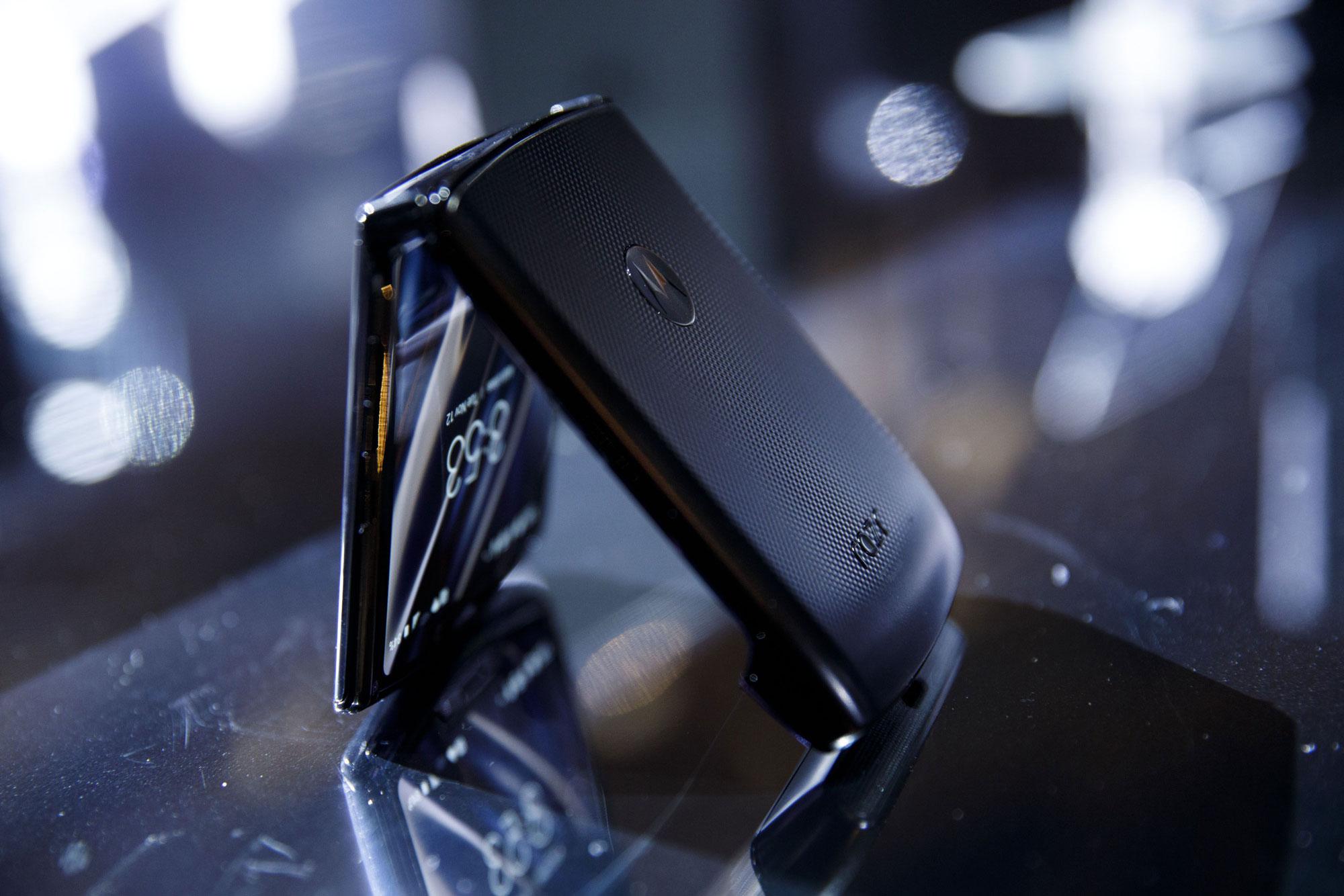 Motorola brings back the Razr as a $1,499 foldable smartphone
