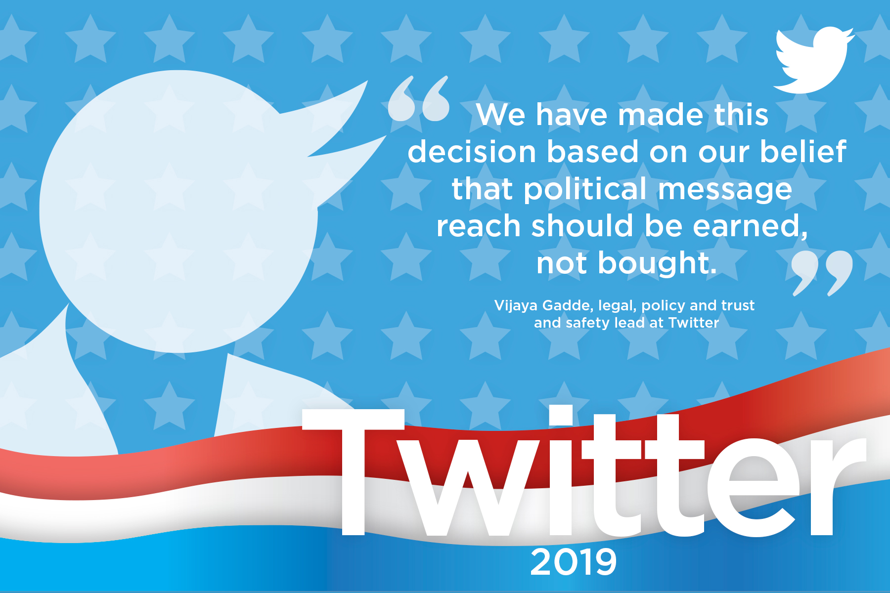 Twitter details political ad ban that is coming next week