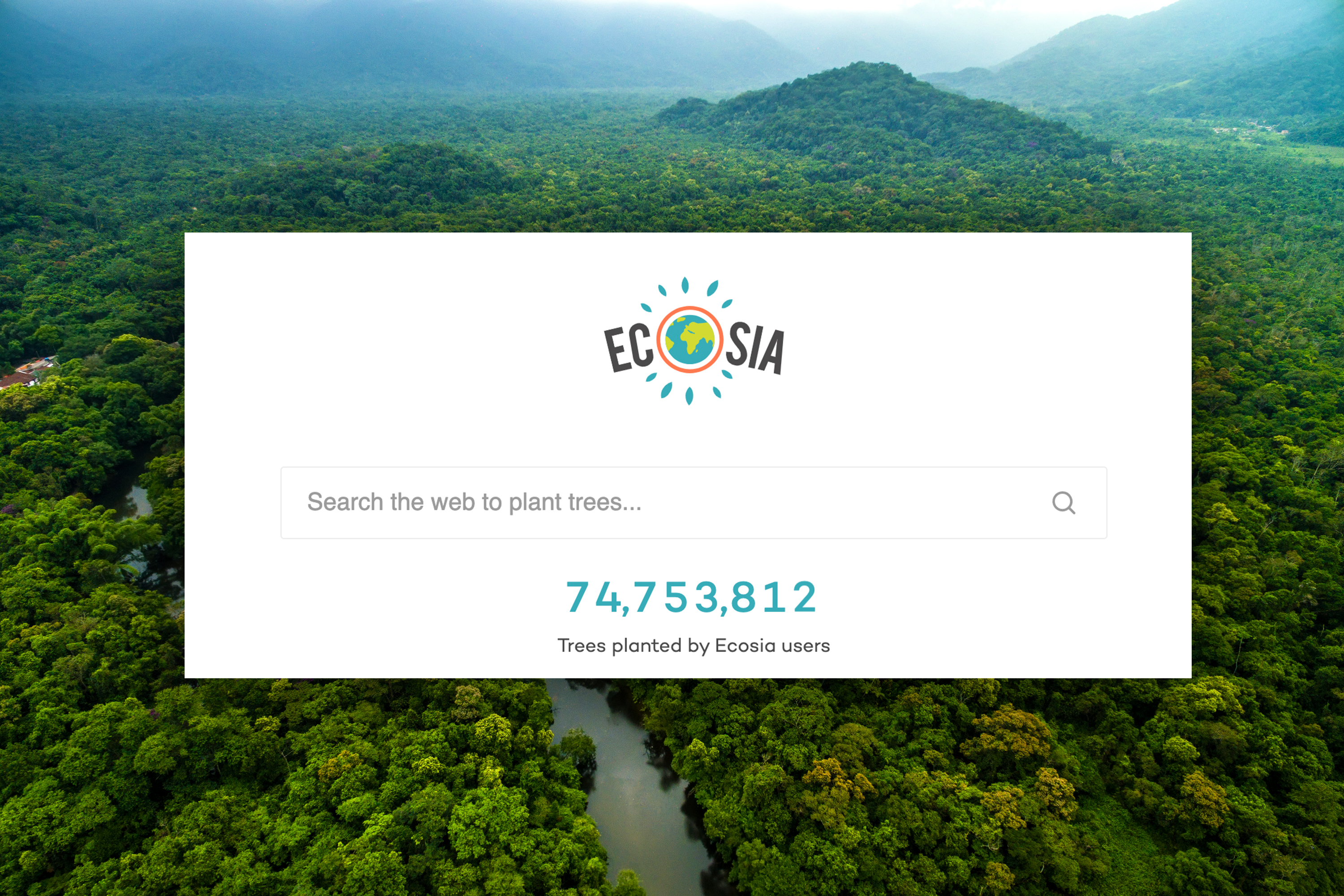 Search engine Ecosia is planting trees every time you browse