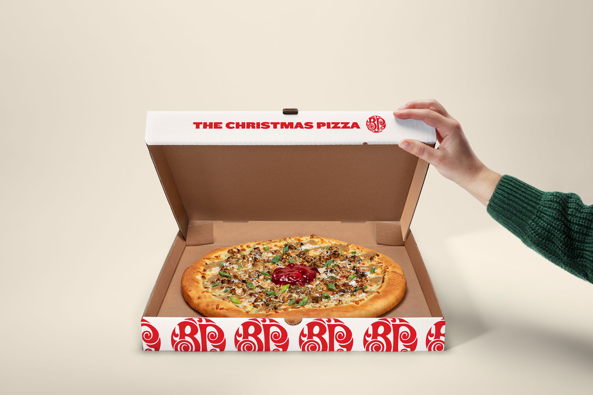 Boston Pizza: Christmas Pizza