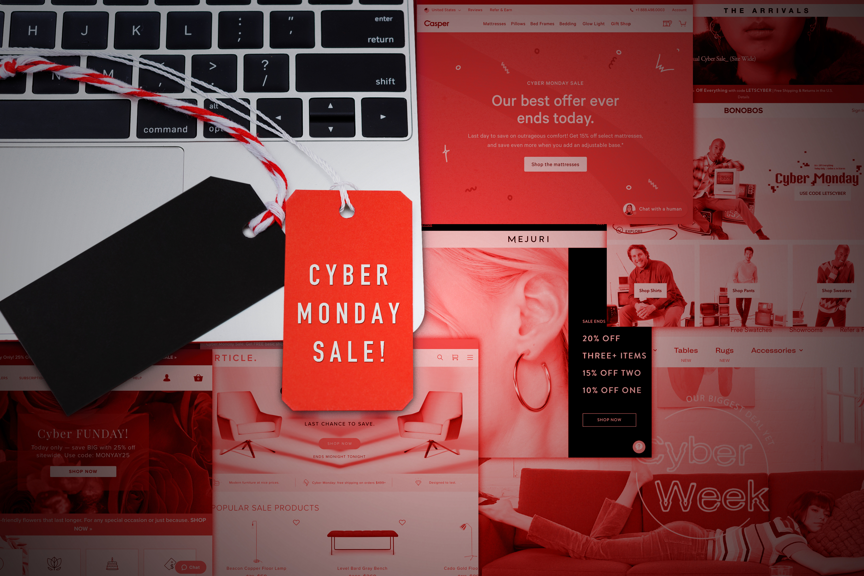 Cyber Monday brings onslaught of discounts from both big retailers and DTC brands