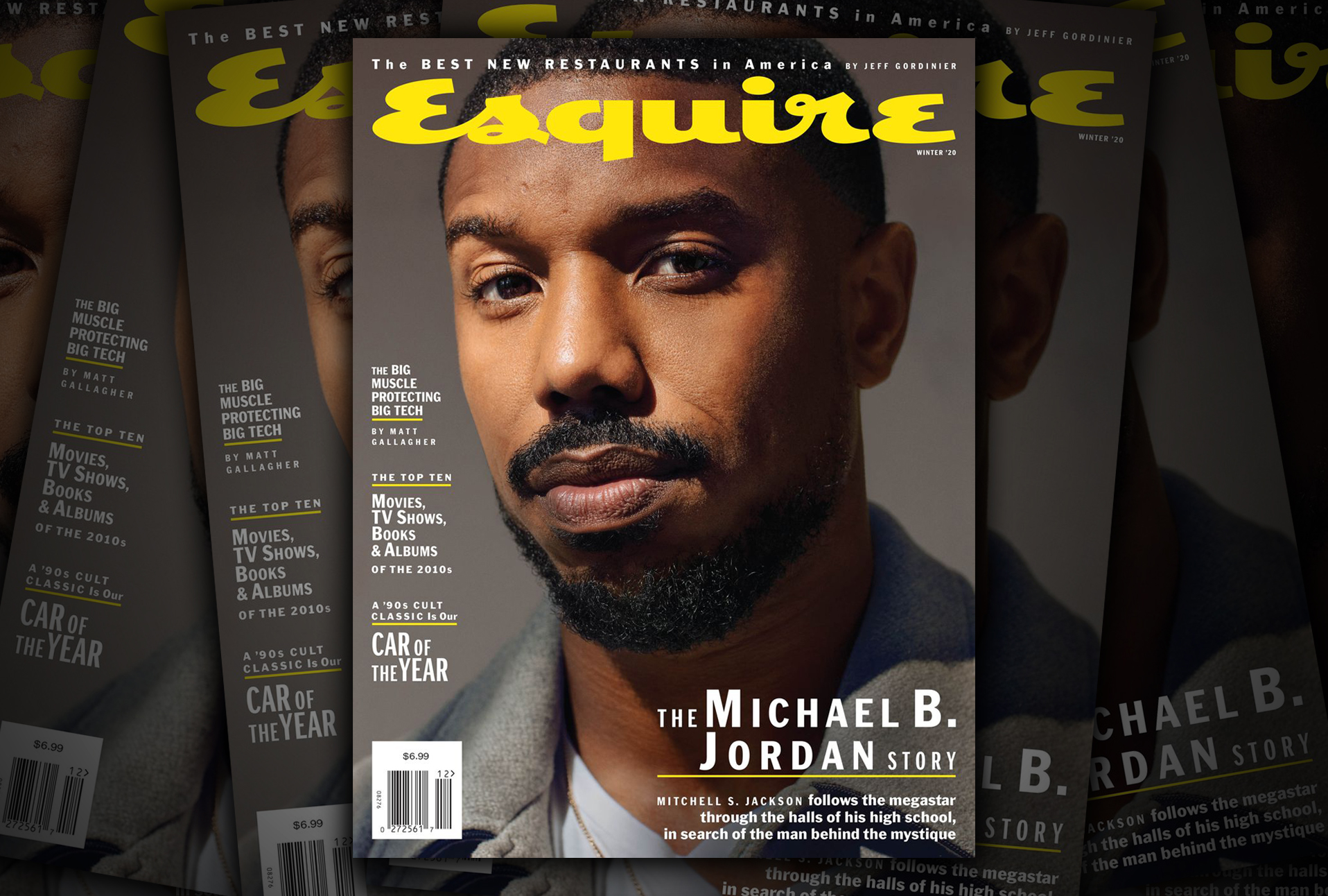 Michael B. Jordan went back to his old high school for the latest Esquire cover story