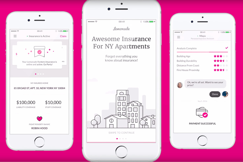 Insurance startup Lemonade poaches Casper's chief marketing officer
