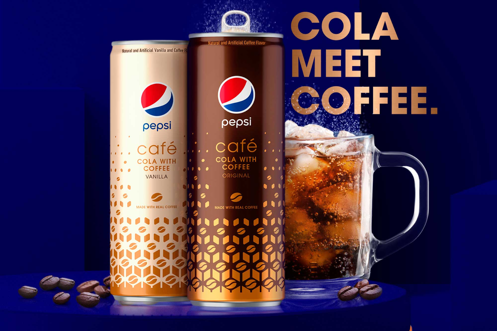Pepsi blurs boundaries with new cola-coffee drink