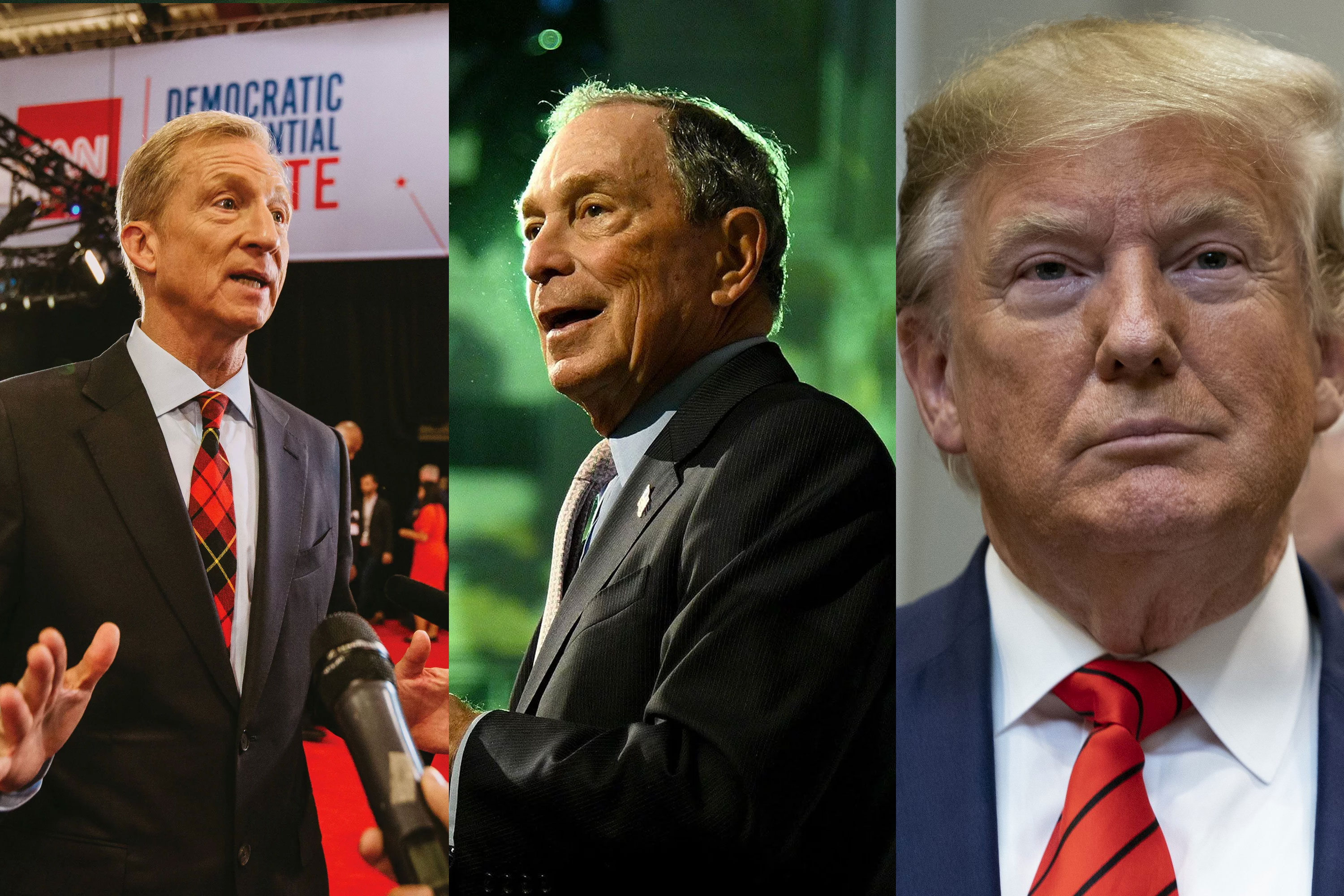 Billionaires battle over political ad burn rate