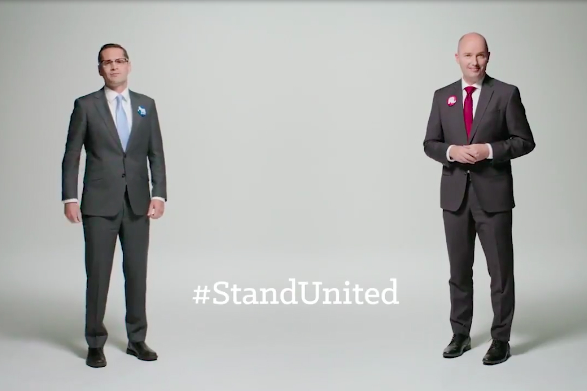Behind the shockingly respectful campaign that put a refreshing spin on political advertising