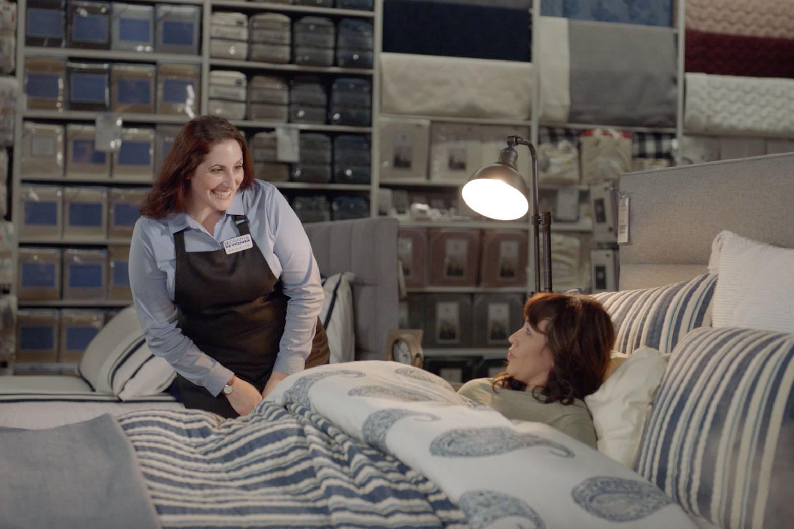 Sans CMO, Bed Bath & Beyond pushes new campaign