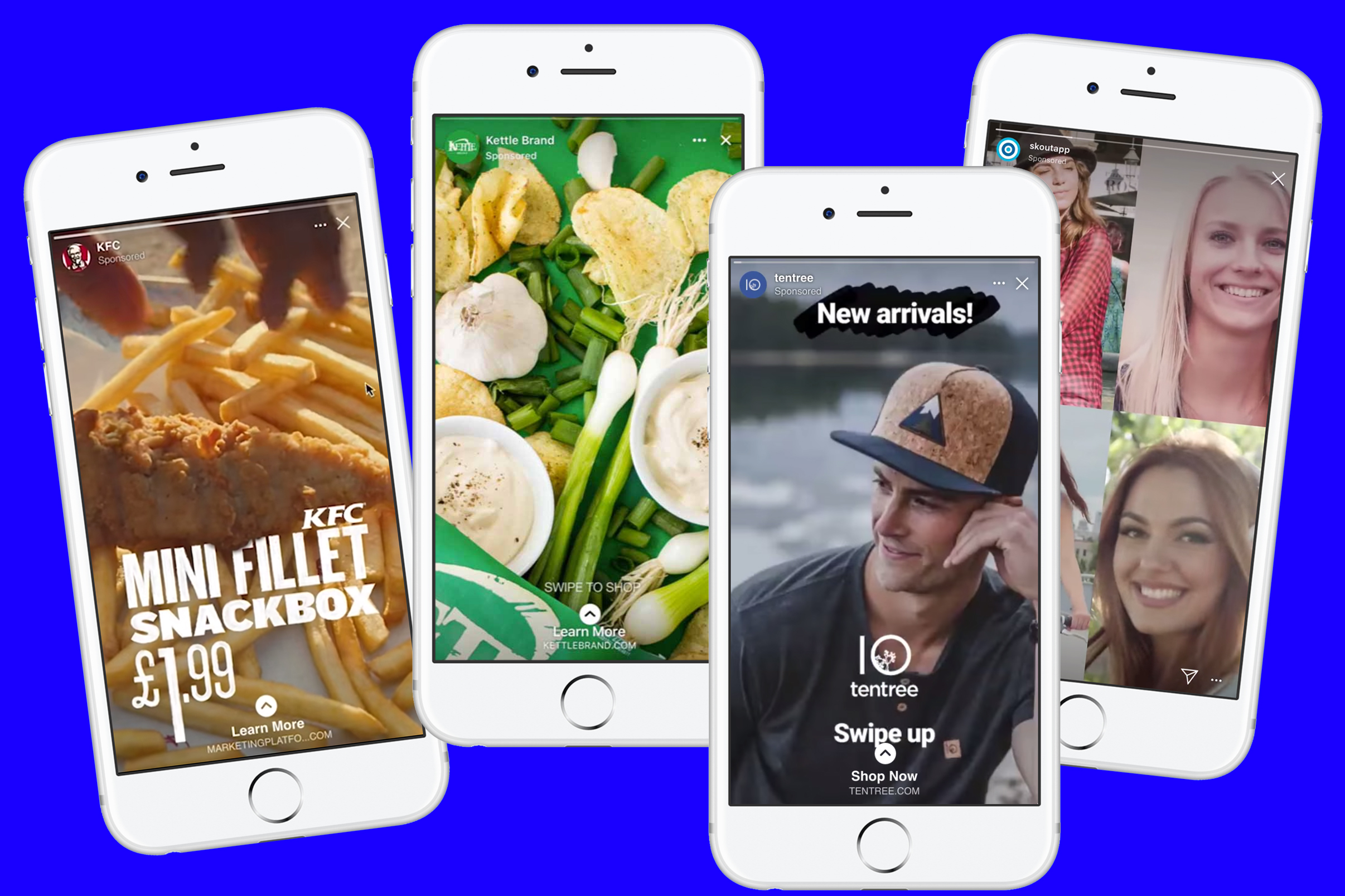 More than half of Facebook's 7 million advertisers are now using Story ads