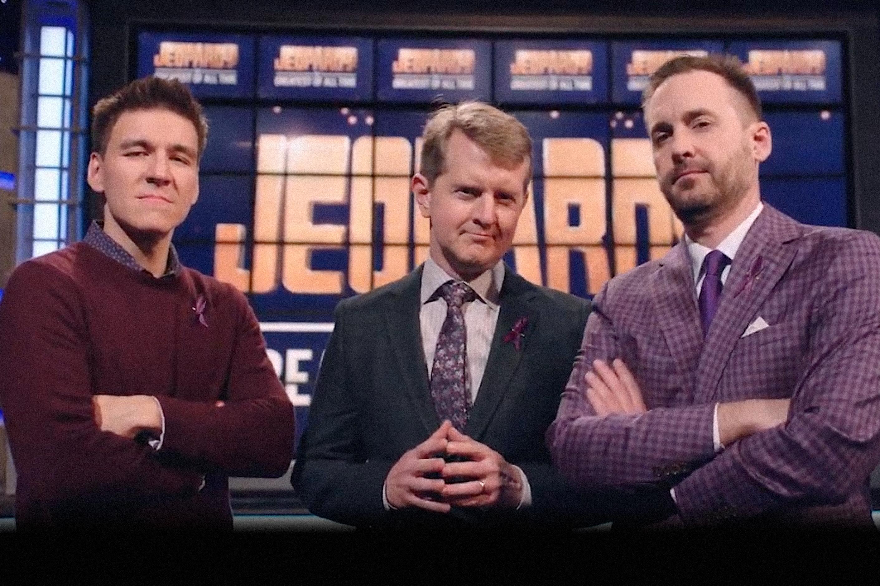 Jeopardy! ABC Ken Jennings Alex Trebek James Holzhauer Brad Rutter Sony Pictures TV