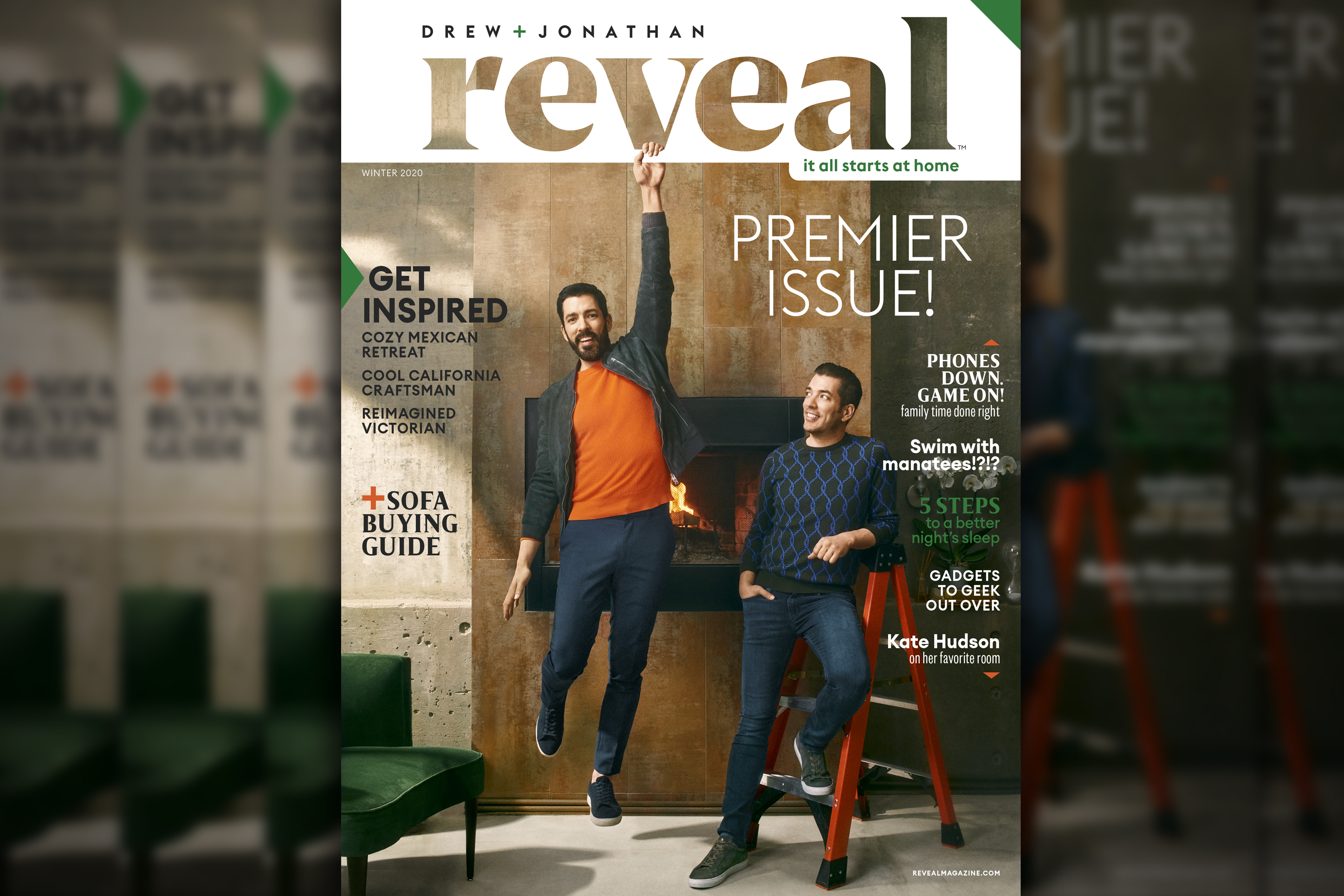 Big Reveal: Here's the first cover of Drew and Jonathan Scott's new magazine
