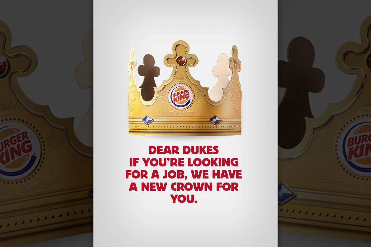Burger King: Dear Dukes
