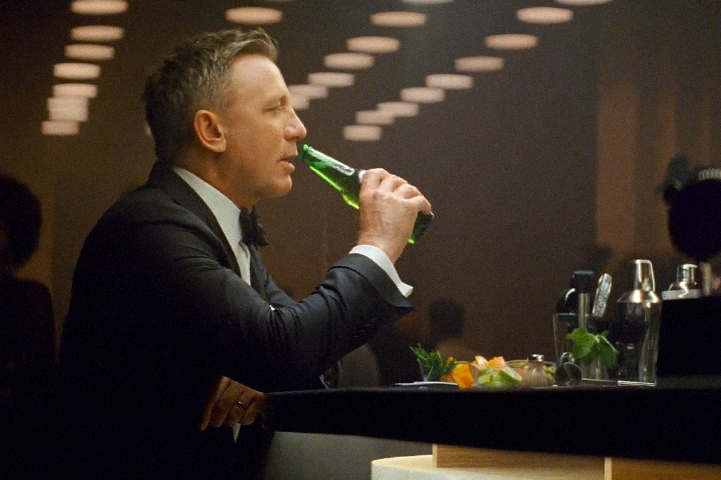 A dry spy: James Bond goes alcohol-free in Heineken ad