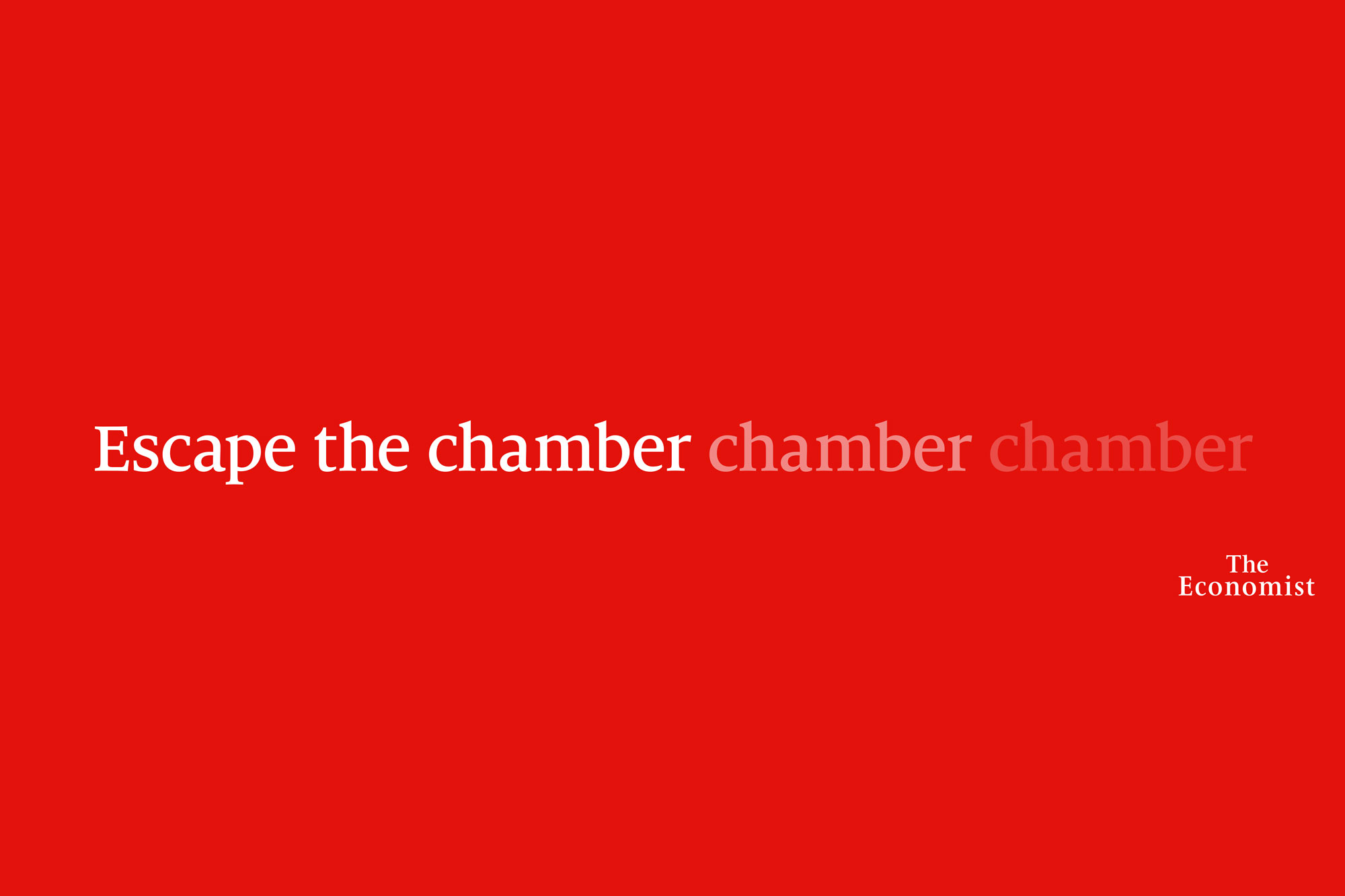 The Economist: 2020 OOH