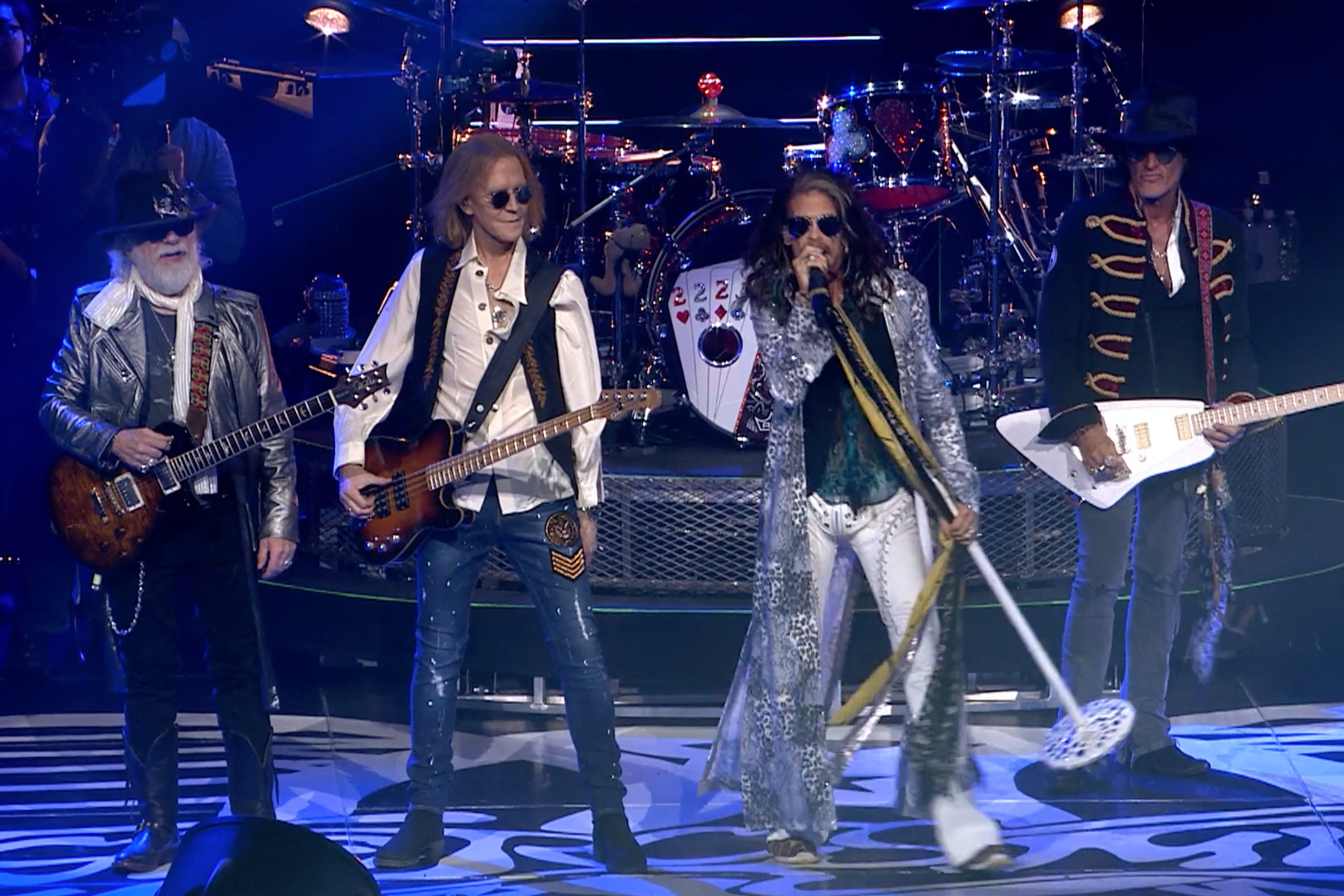 Aerosmith helps Las Vegas unfurl new tourism slogan in Grammy ad