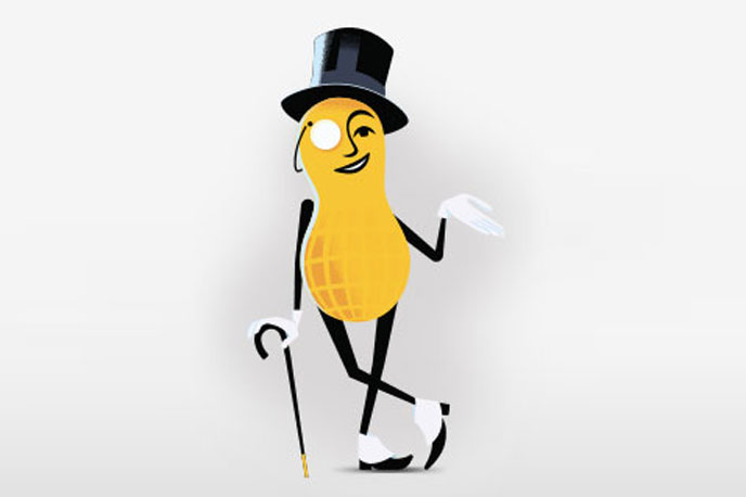 Shell-shocked brands mourn the death of Mr. Peanut