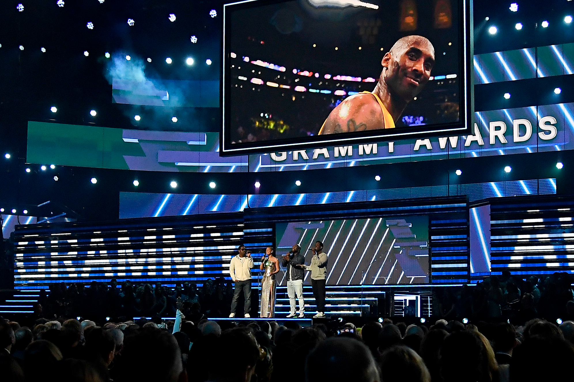 Kobe Bryant 62nd Annual Grammy Awards CBS Billie Eilish Lizzo Tyler the Creator Lil Nas X Los Angeles Lakers NBA