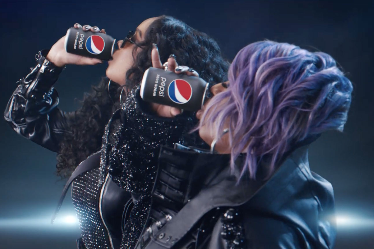 Pepsi takes a shot at Coke in Super Bowl ad starring Missy Elliott and H.E.R.
