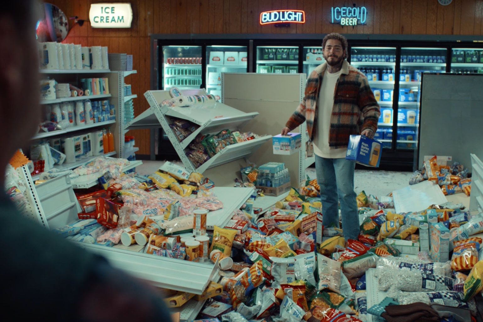 Bud Light Seltzer will ask social media to pick which Post Malone spot to air during the Super Bowl