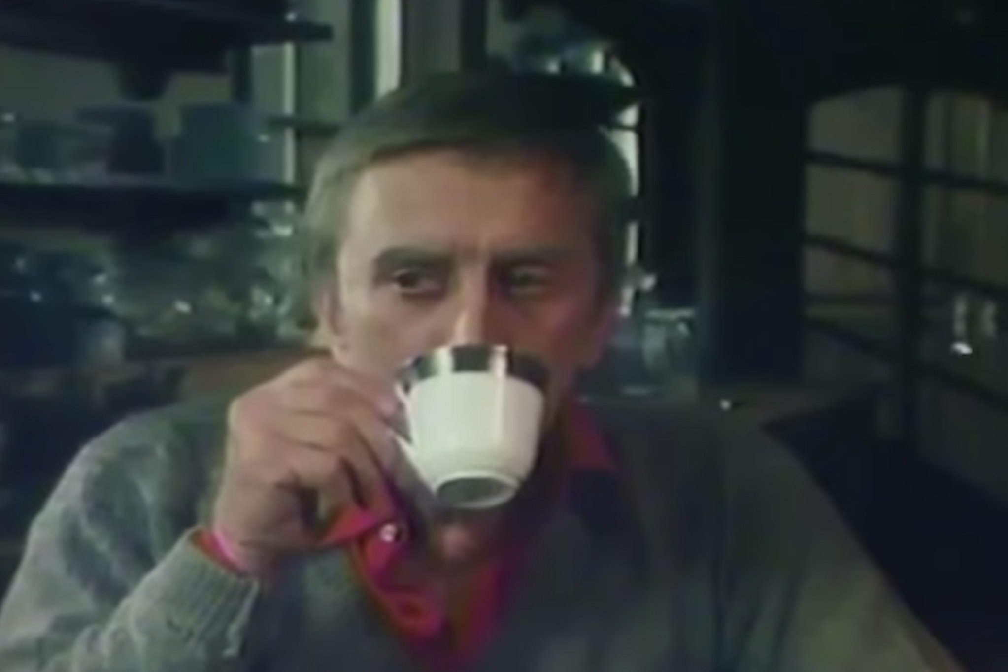 The late, great Kirk Douglas acted in commercials, too