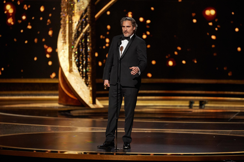 Oscars 92nd Academy Awards ABC Joker Brad Pitt Leonardo DiCaprio Parasite Nielsen ratings M&Ms Cadillac