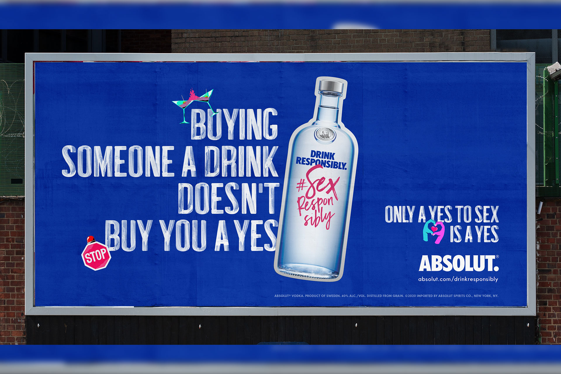 Absolut vodka Pernod Ricard Sex Responsibly sex sexual consent ad campaign BBH Singapore news Rape Abuse & Incest National Network RAINN partnership