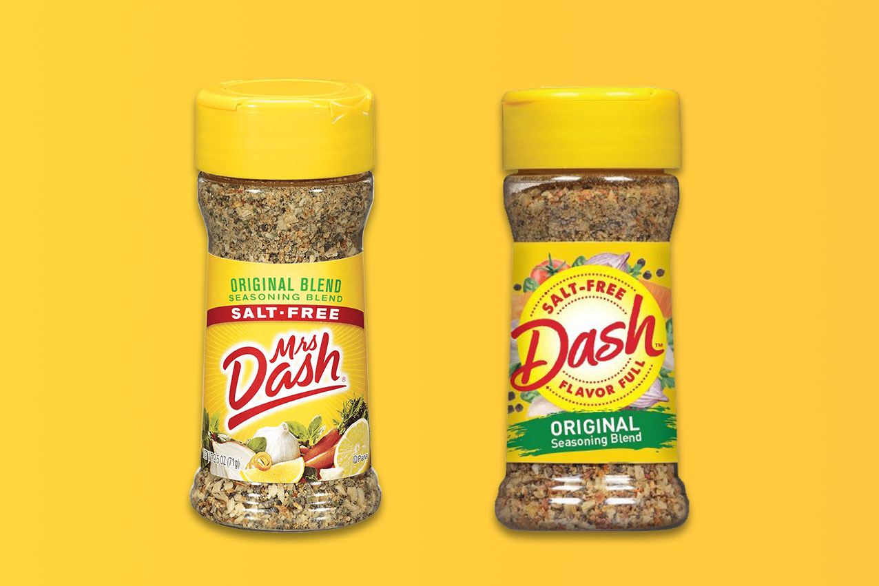 Mrs. Dash is dropping Mrs. from its name
