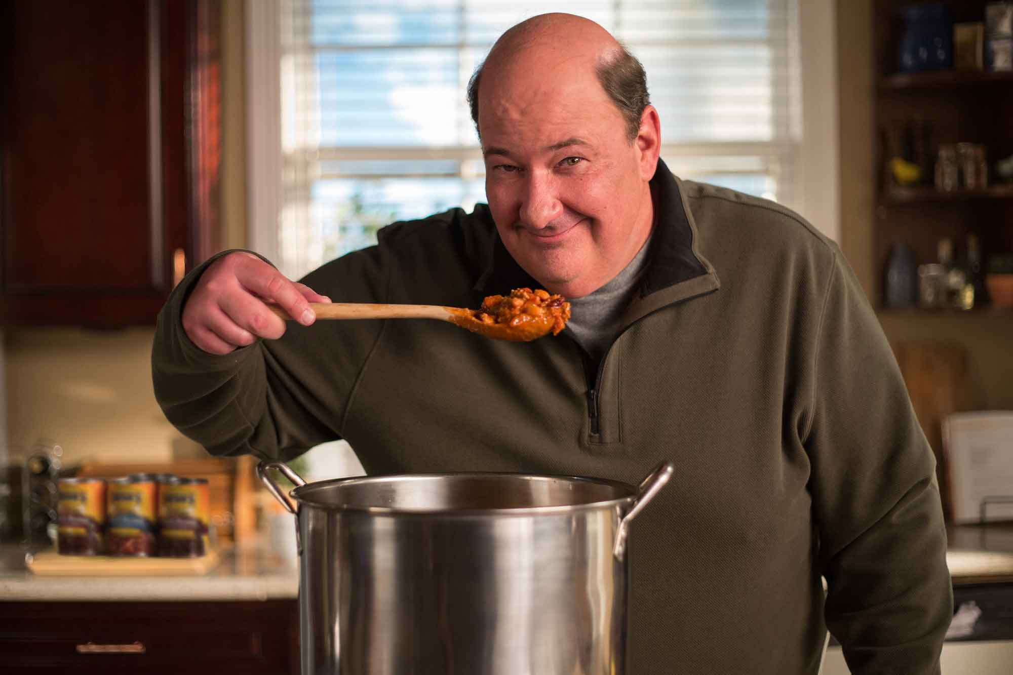Bush's Beans hires Kevin from 'The Office' to make his famous chili