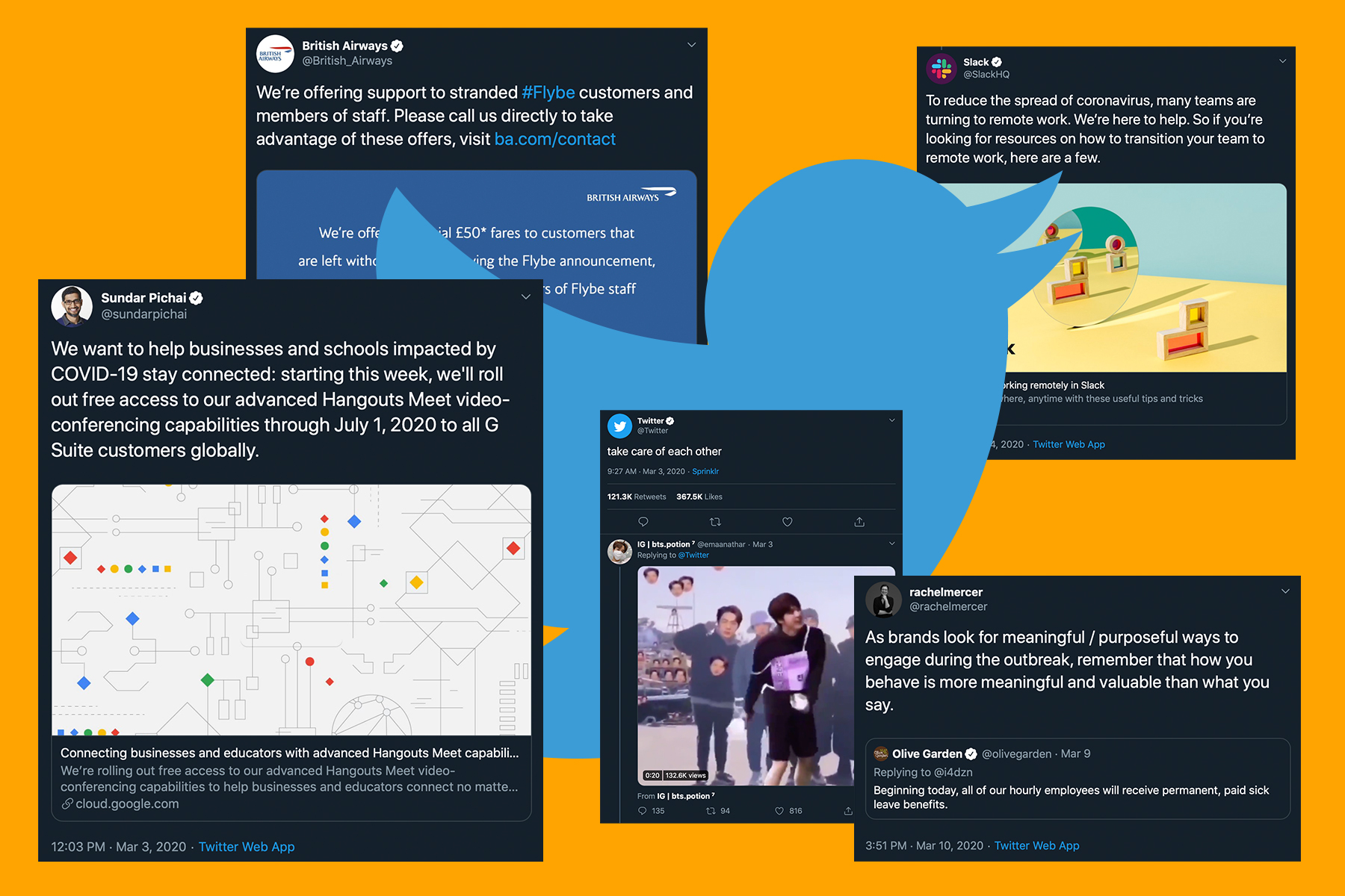 Twitter gives brands advice on how to communicate in this coronavirus climate