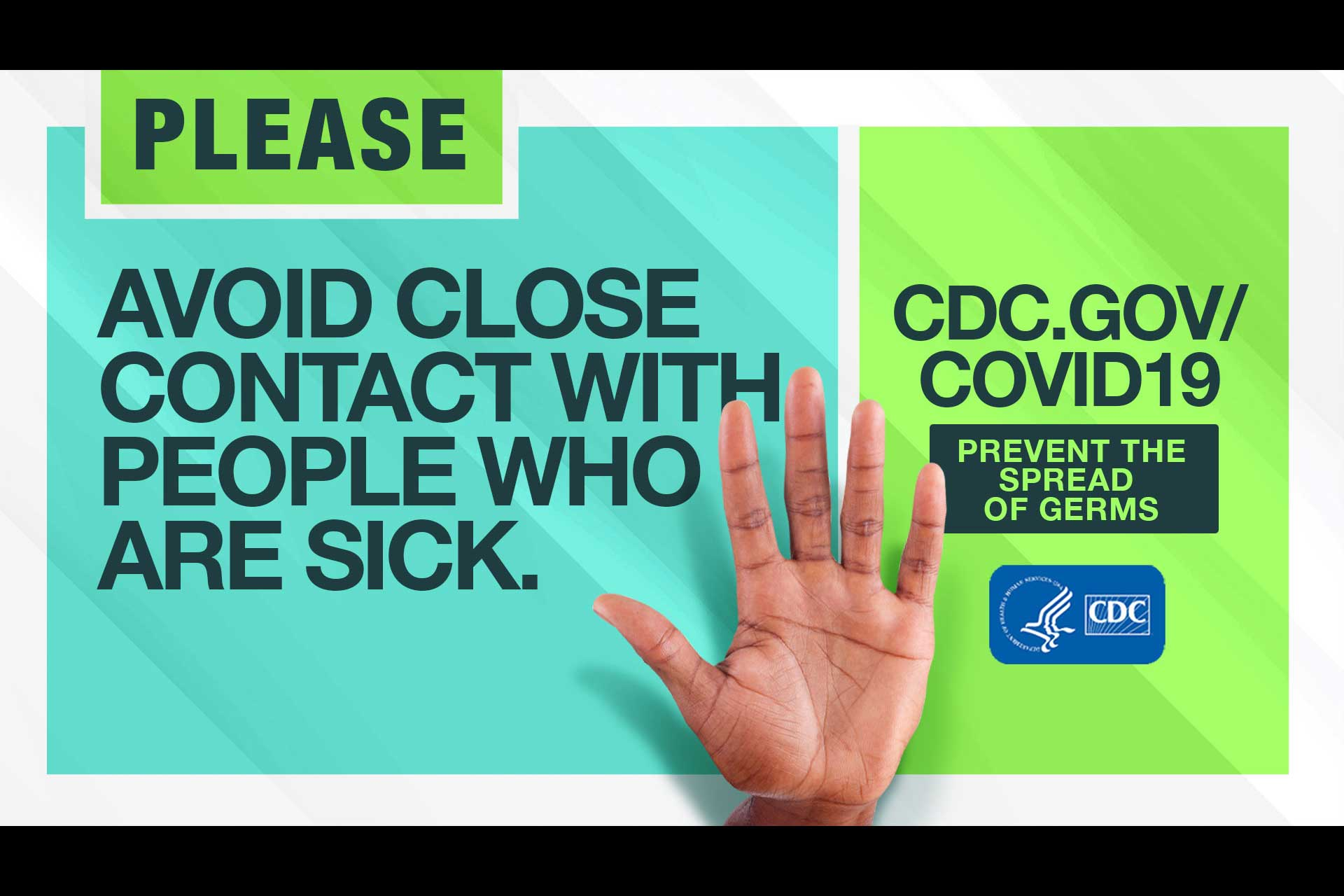 Coronavirus outbreak pandemic COVID-19 disease CDC Centers for Disease Control and Prevention OAAA out of home OOH Out of Home Advertising Association of America billboards digital PSA