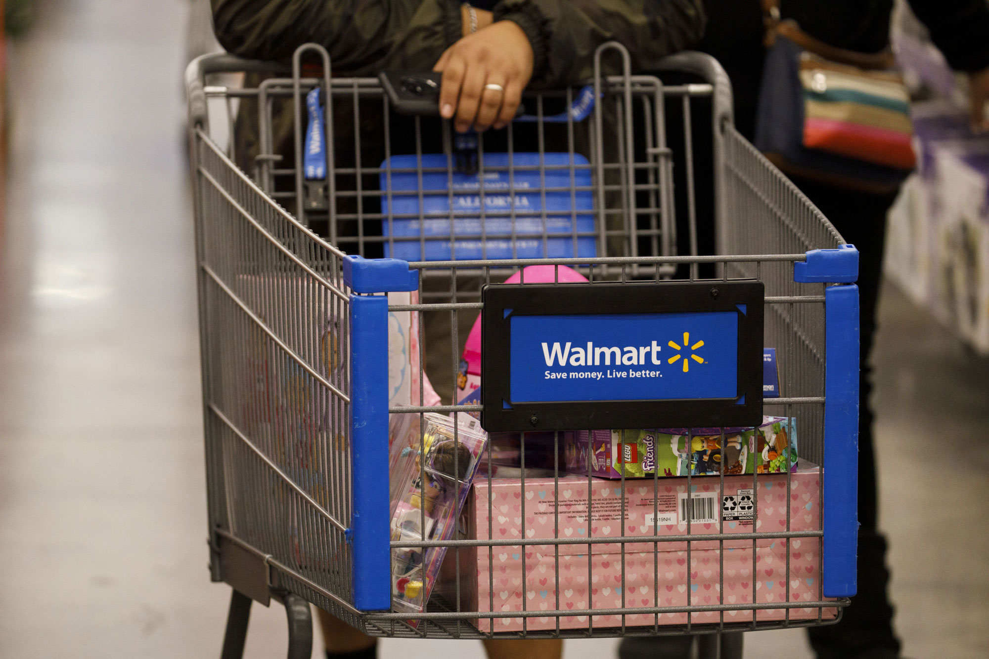 As the U.S. shuts down, Walmart steps up