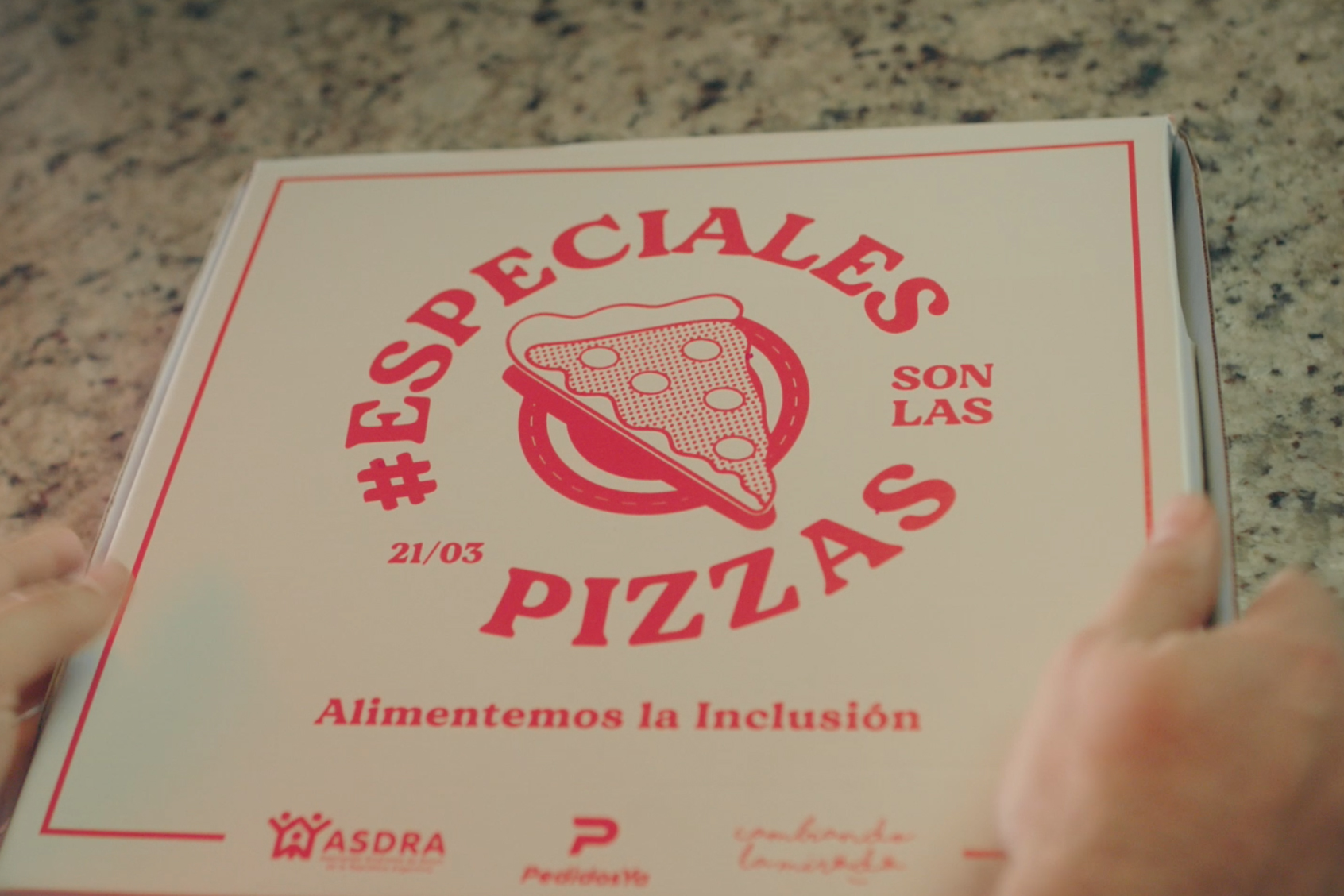 Argentine Down Syndrome Association: Pizzas are the Specials