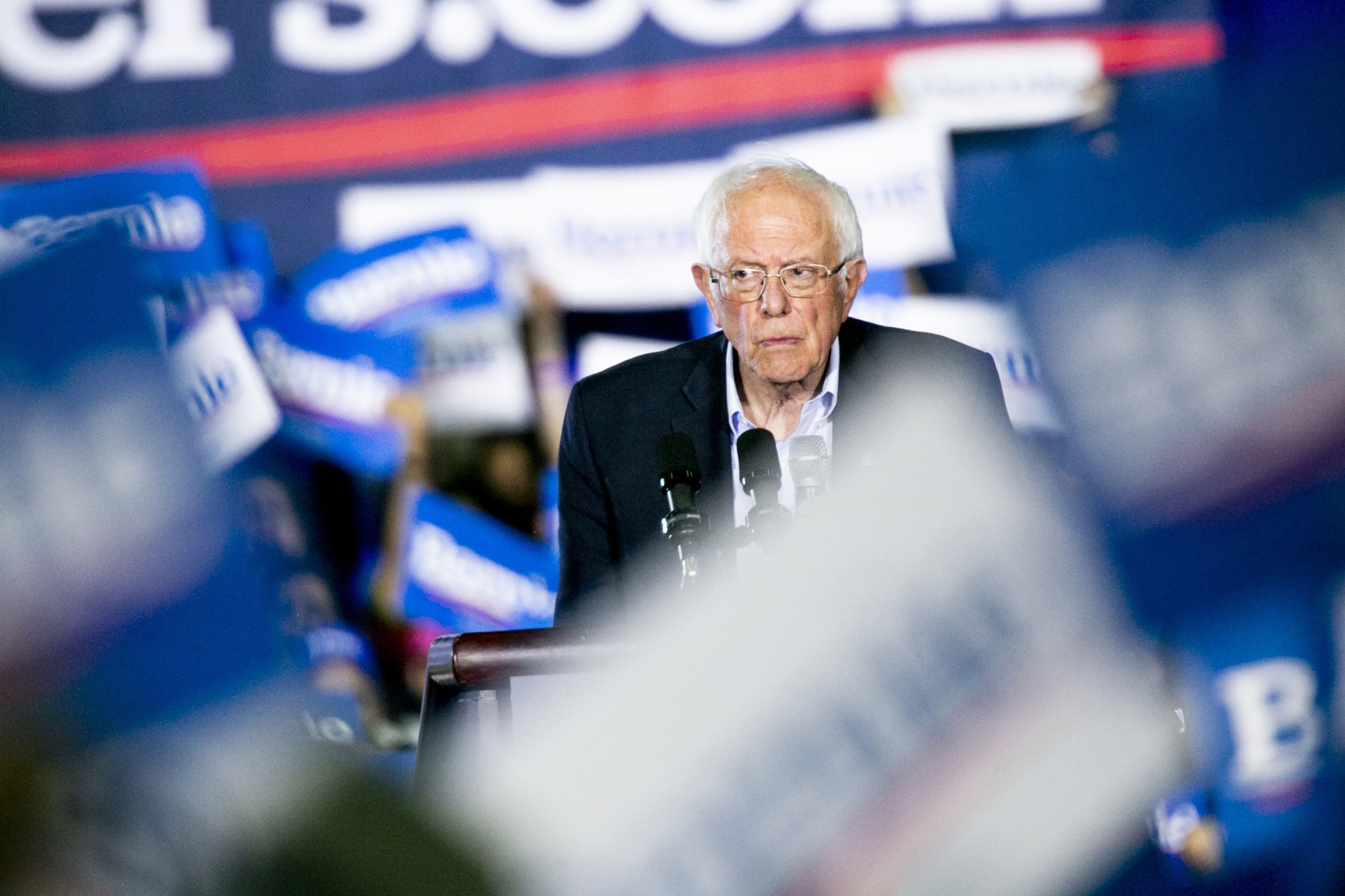 After spending more than $76 million on advertising, Bernie Sanders ends his White House bid