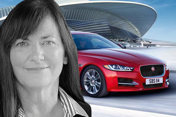 Kim McCullough, Jaguar Land Rover's VP of marketing, steps down
