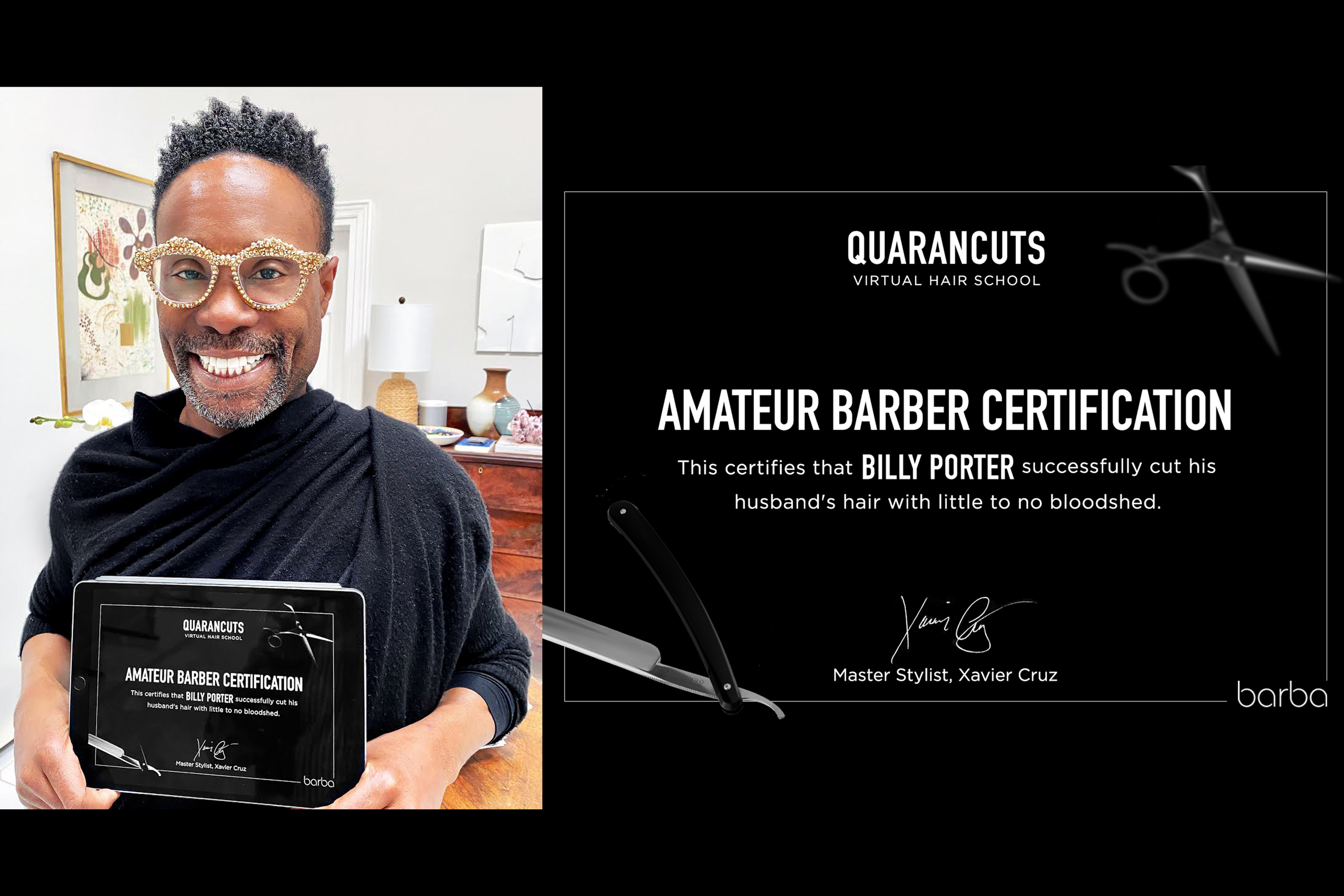 Barba: Quarancuts Hair School