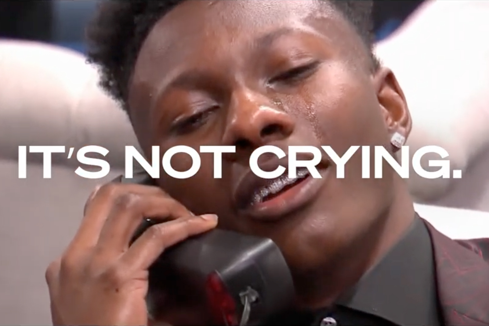 Oikos Triple Zero shows there's crying in football in a new spot for the NFL Draft