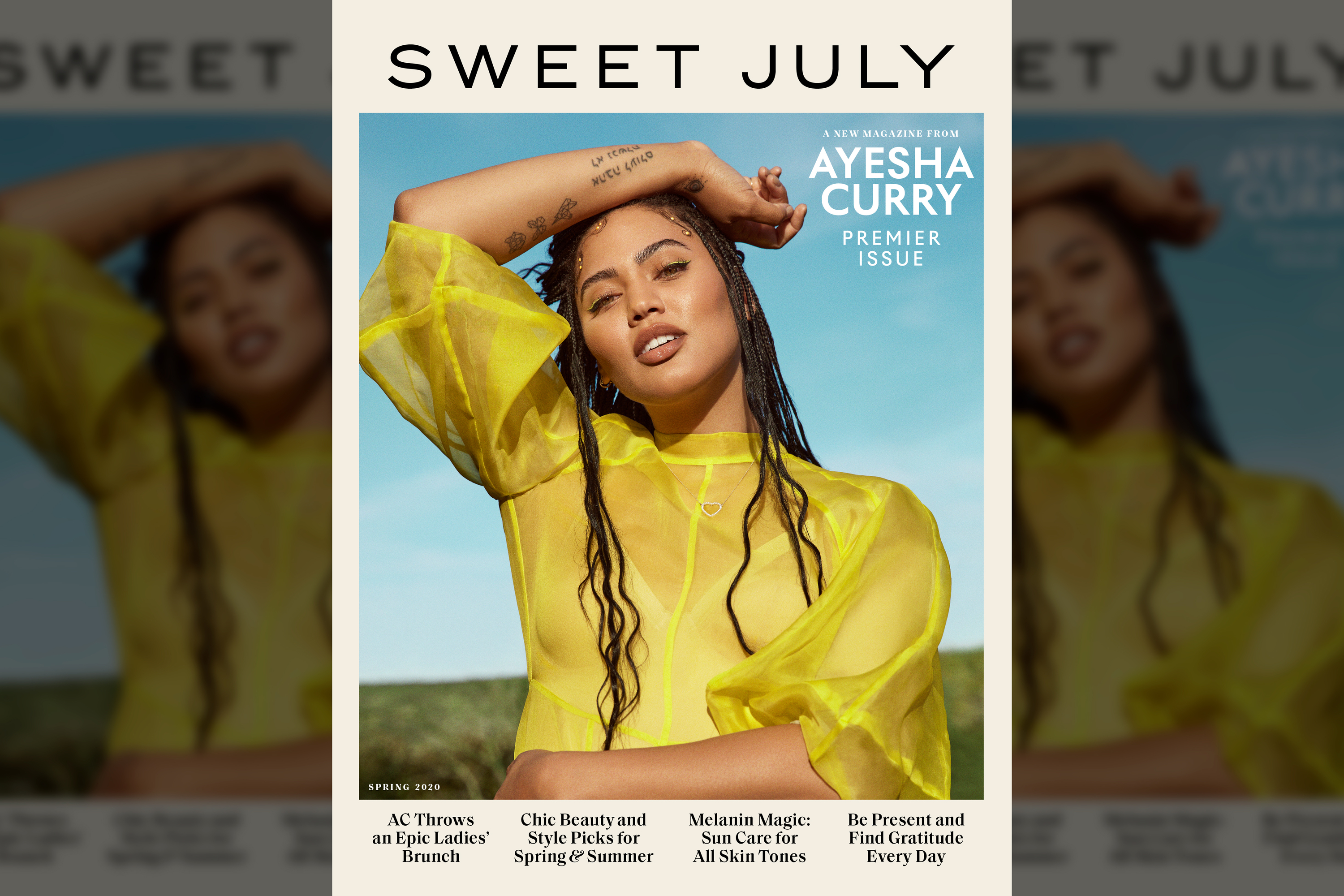 Meredith launches a new magazine, Sweet July, with Ayesha Curry