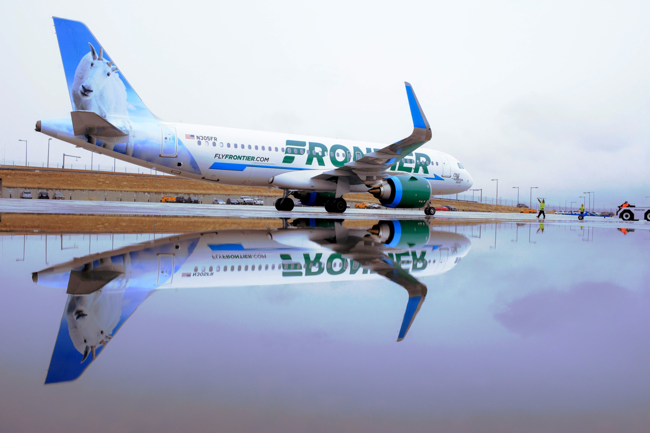 For $39 to $89, Frontier Airlines will let passengers keep their distance