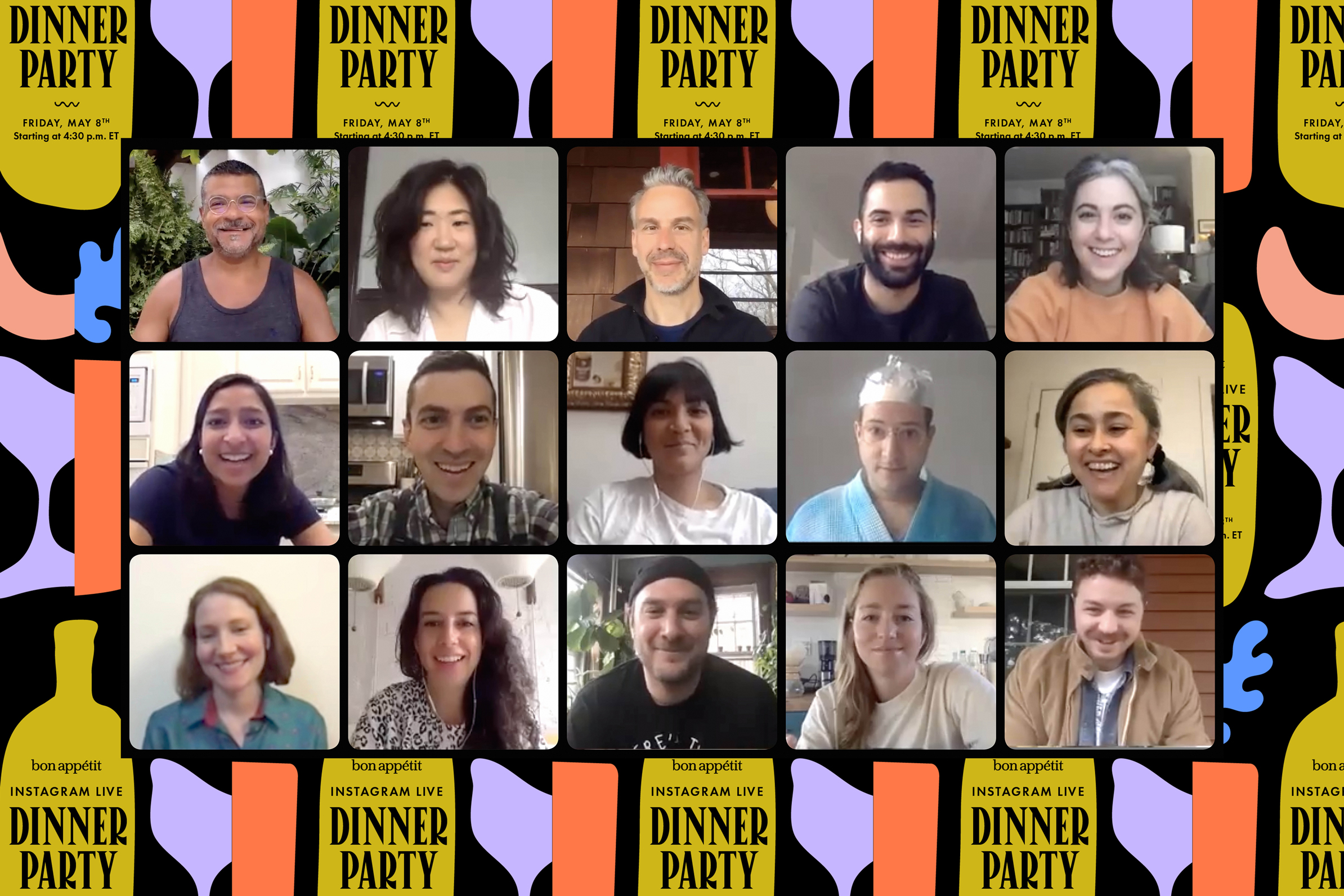 Bon Appétit is hosting a star-studded Instagram Live benefit dinner party (and you're invited)