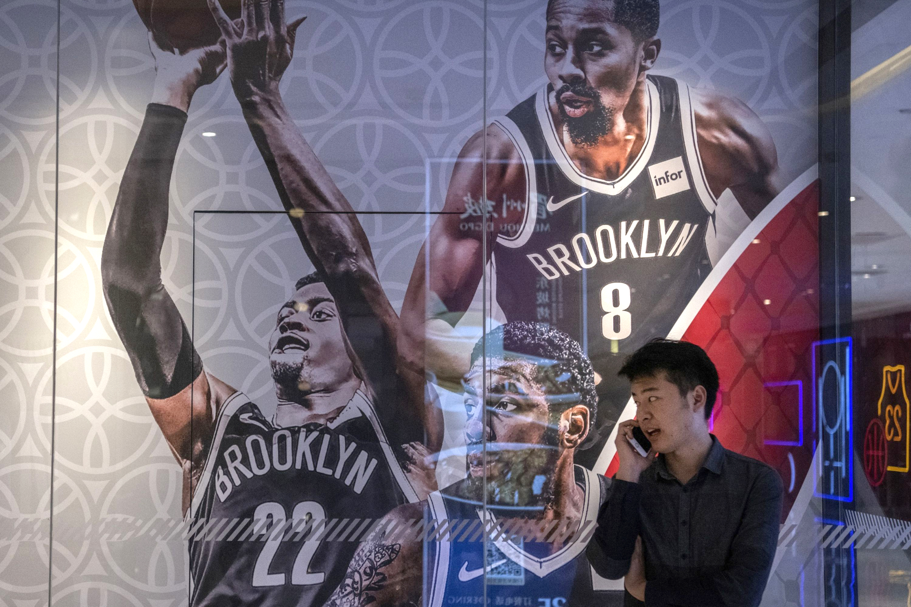 NBA China names a new CEO as the league still faces a broadcast ban