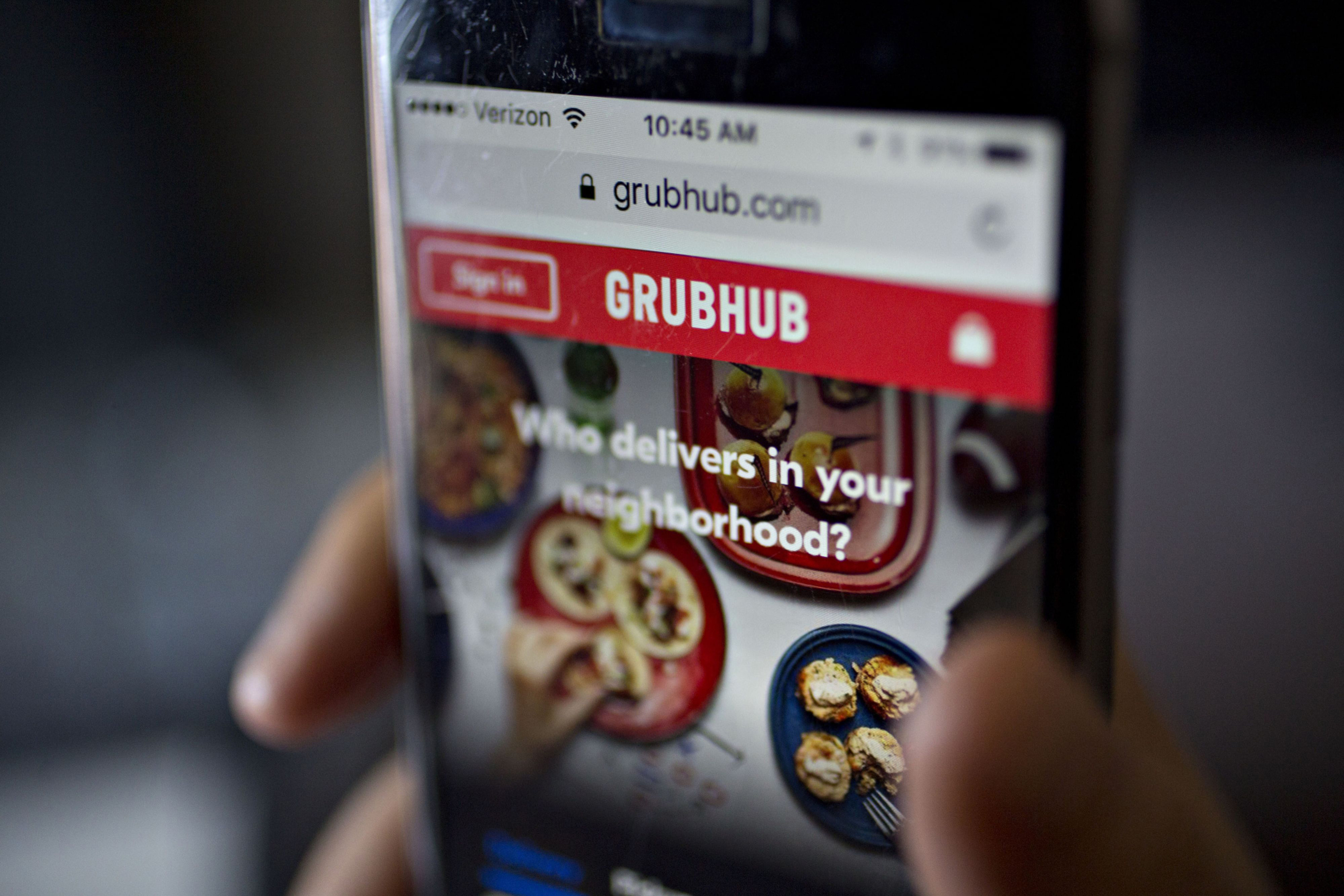 Uber approaches Grubhub with takeover offer