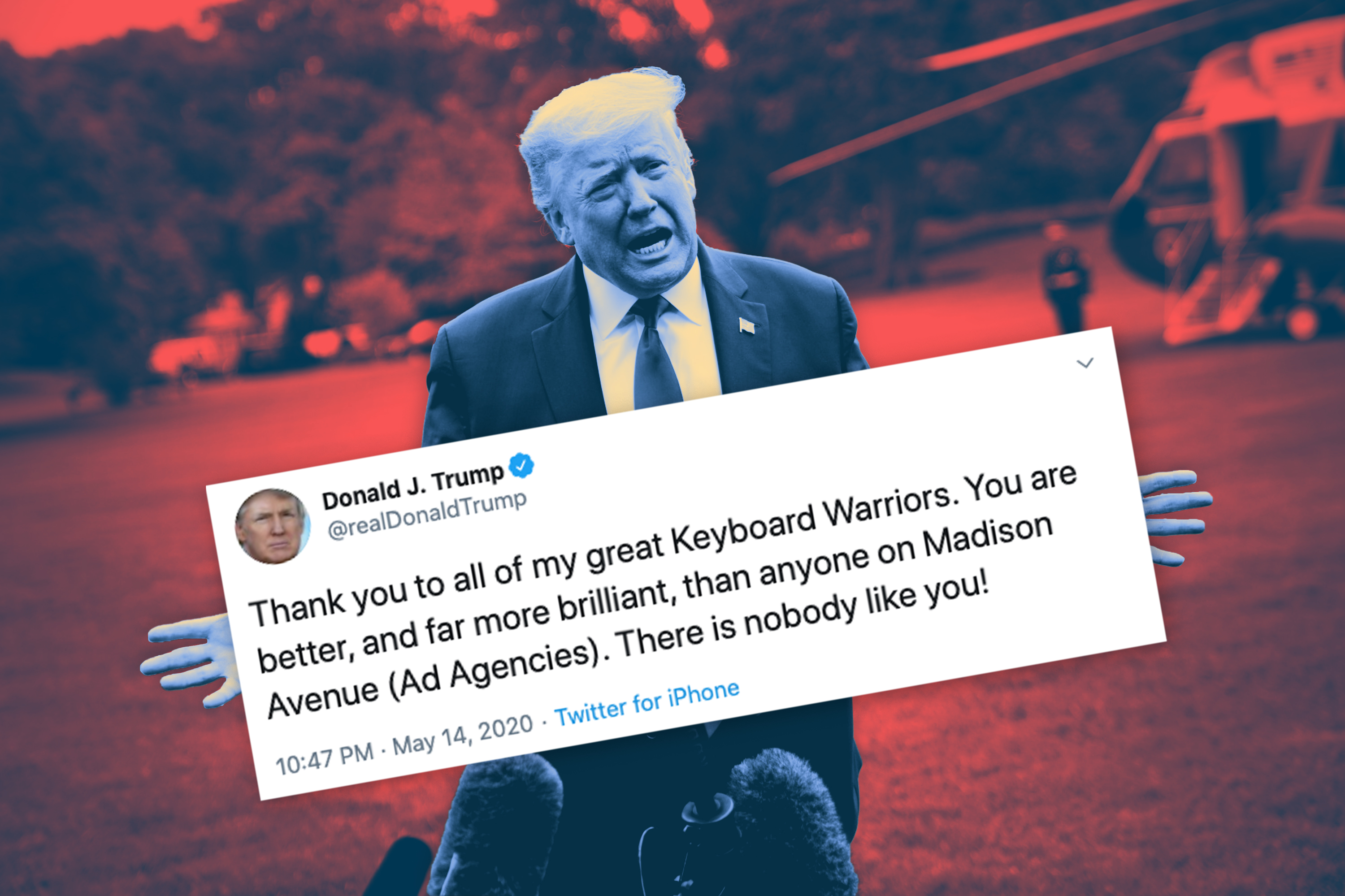 Agency Brief: Trump takes aim at Madison Avenue