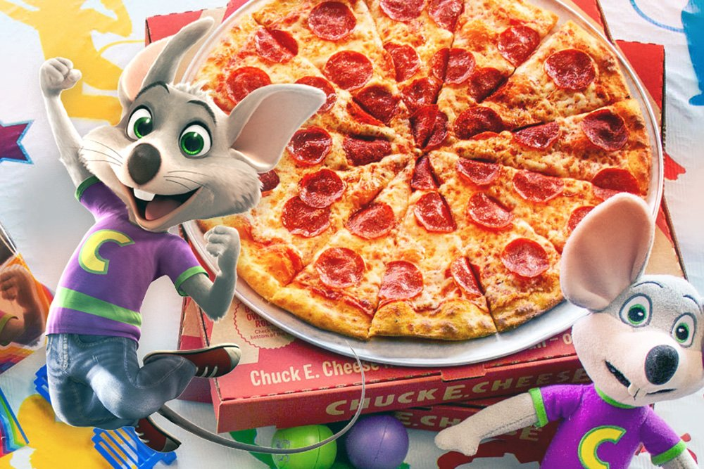 Chuck E. Cheese is delivering pizza under a different name on Grubhub and people are not amused