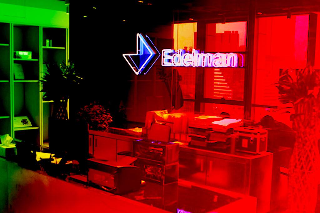 Edelman cuts 7 percent of global staff, reverses no-layoff pledge