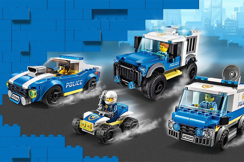 Lego has paused all advertising due to the protests, not just for police-related toys
