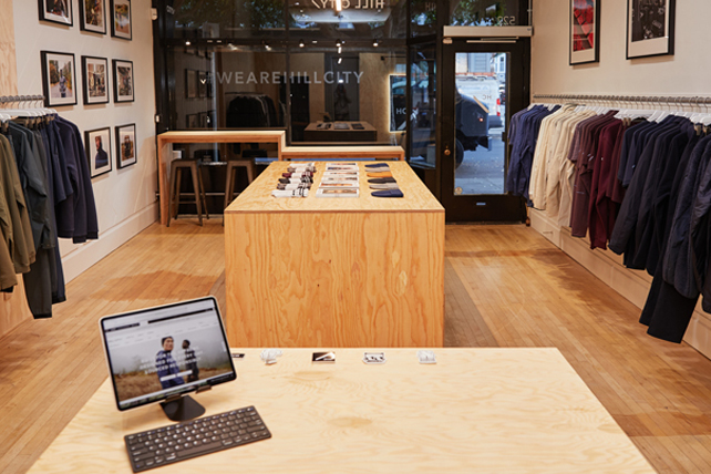 Gap closes Hill City menswear brand after two years