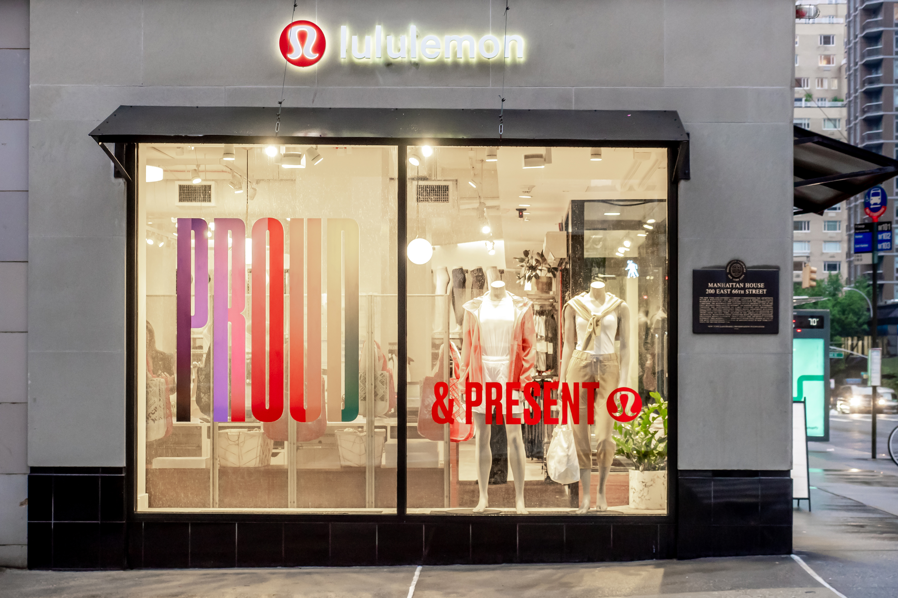 Lululemon still 'very committed' to experiential stores
