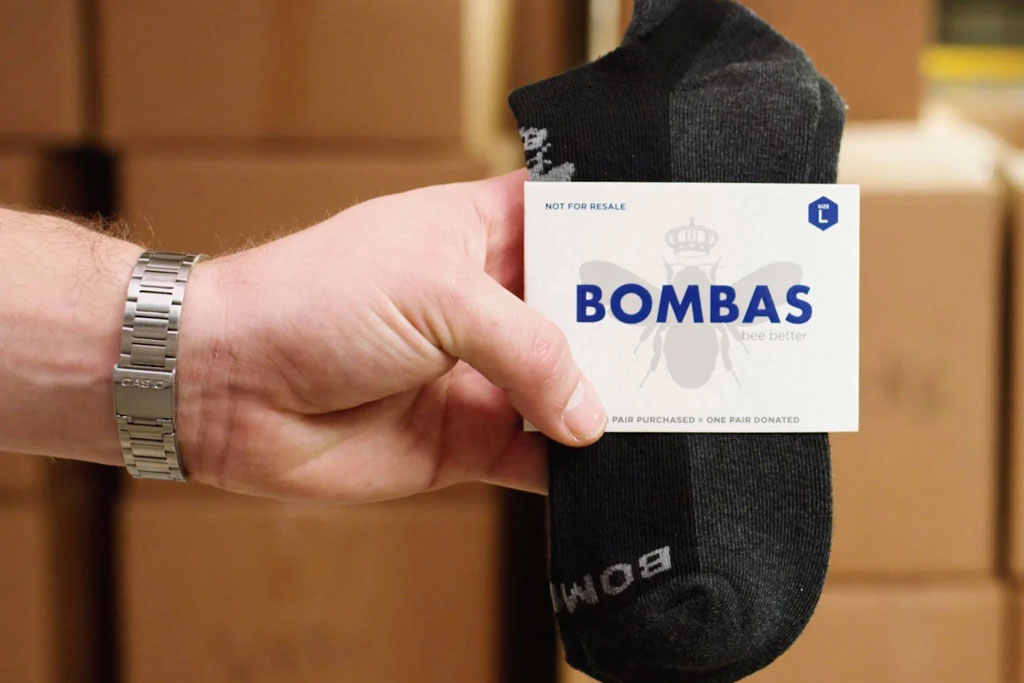 Sock company Bombas is changing the world, one pair at a time